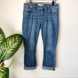 Cabi | Kick It Crop Jeans